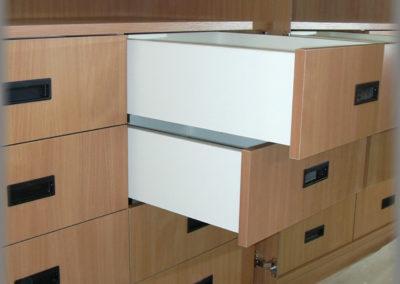 Armoire dressing, tiroirs intérieurs